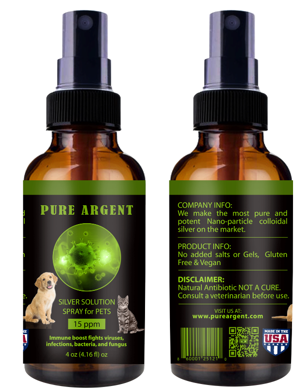 Silver Solution Pets Spray